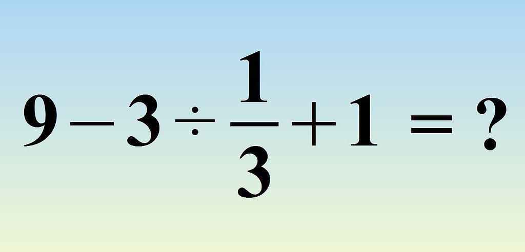 A lot of people are having trouble with this math problem that ...