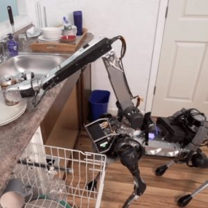 This incredible robot dog can clean your house