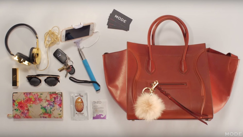 4488b9c4b845 This 100 years of handbags vid shows what we carried in our purses ...