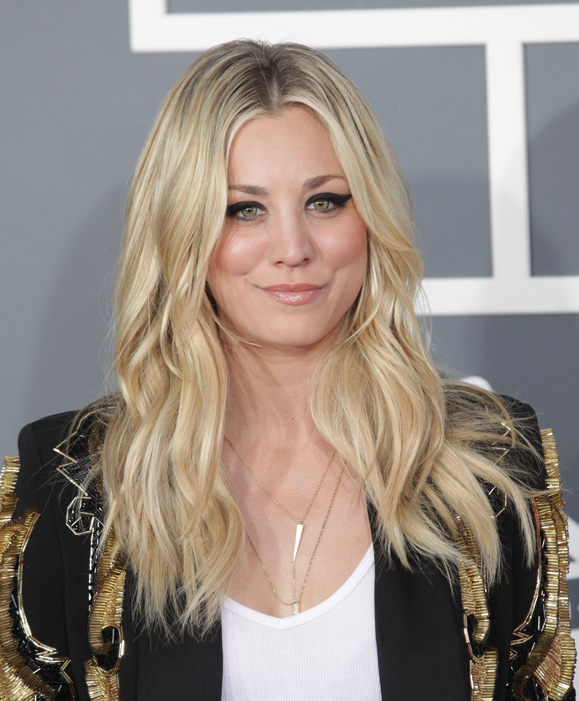 Kaley cuocos new summer hairstyle is a total blast from the past shutterstock urmus Gallery