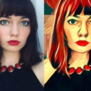 This mind-blowing app turns your selfies into actual works of art