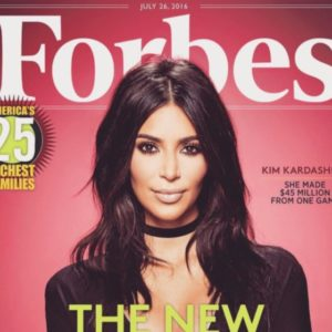 """Here's who Kim Kardashian beat out to be #1 on the Forbes """"Mobile Moguls"""" list"""
