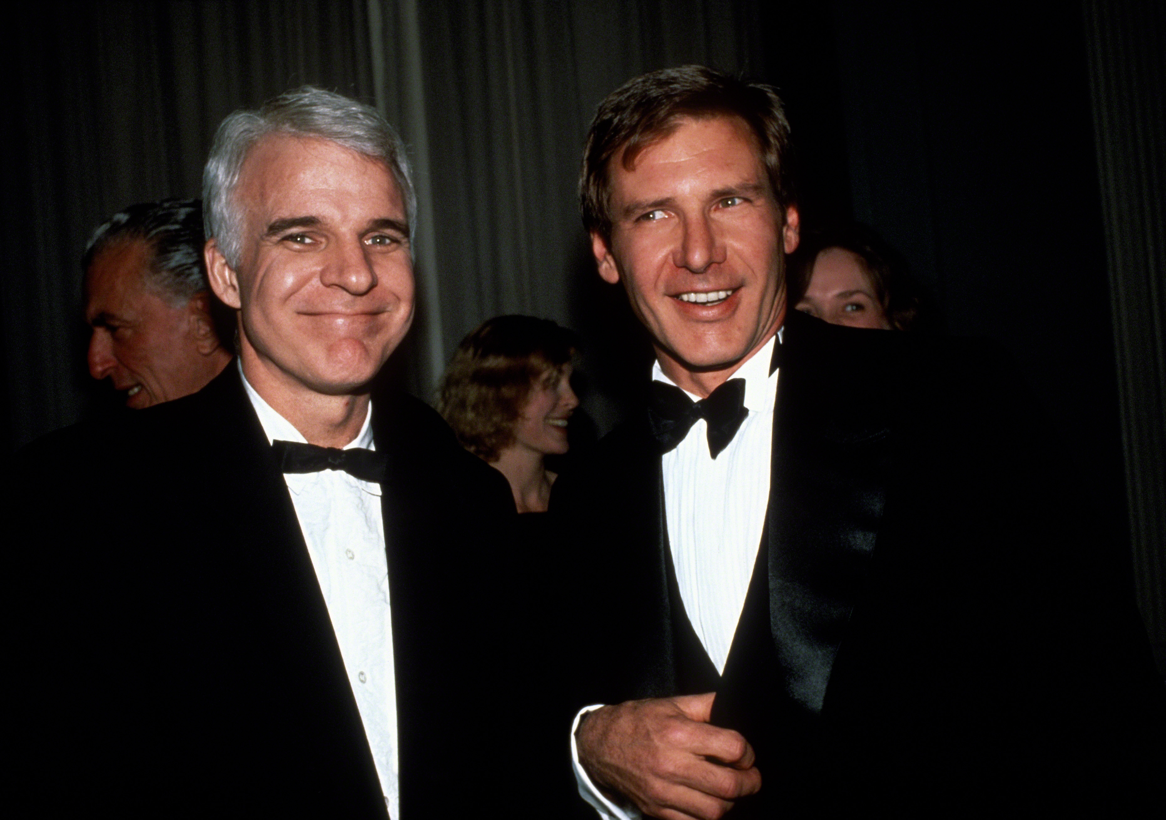 Just a bunch of throwback pictures of harrison ford looking later on in 1990 lets talk about harrison ford hanging out with just as equally forever handsome steve martin mightylinksfo
