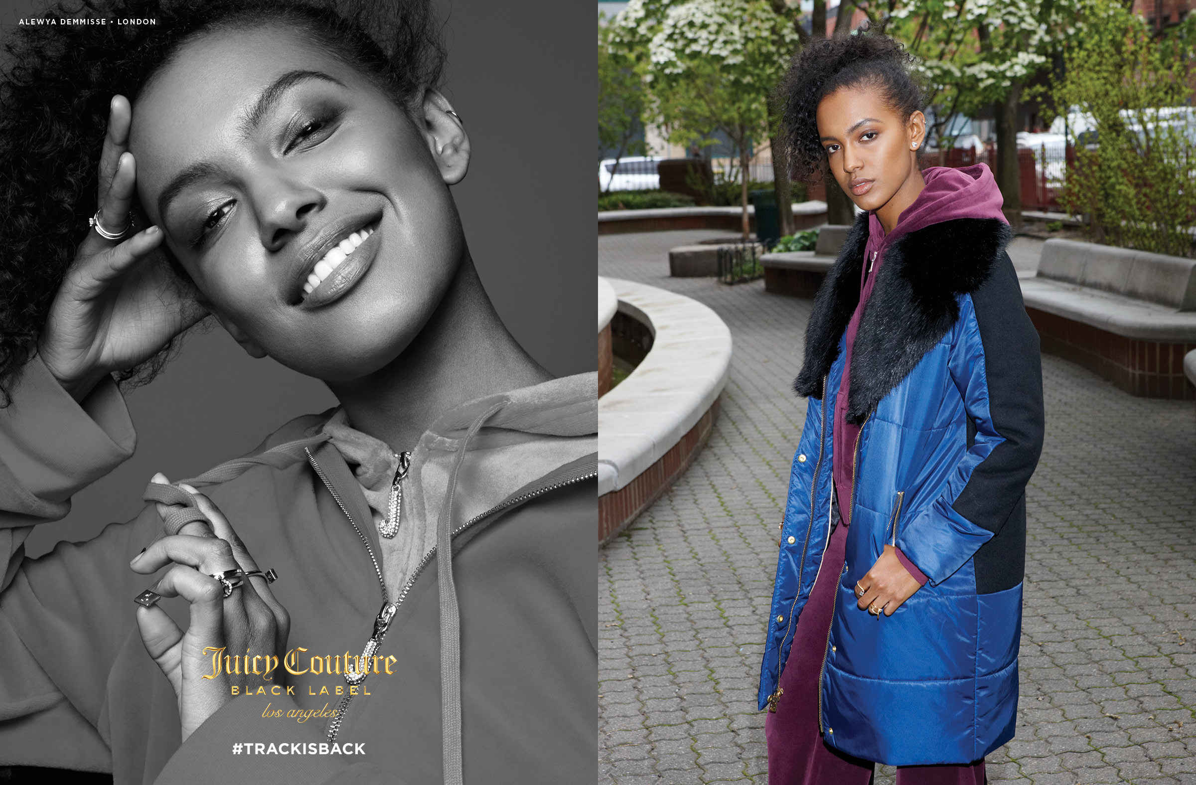 7bc5159436 The spirit of the 90s is alive in this Juicy Couture campaign that is 100%  dedicated to the tracksuit