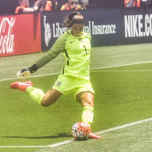 Hope Solo just blogged about the crazy inequality in women's sports team like a badass
