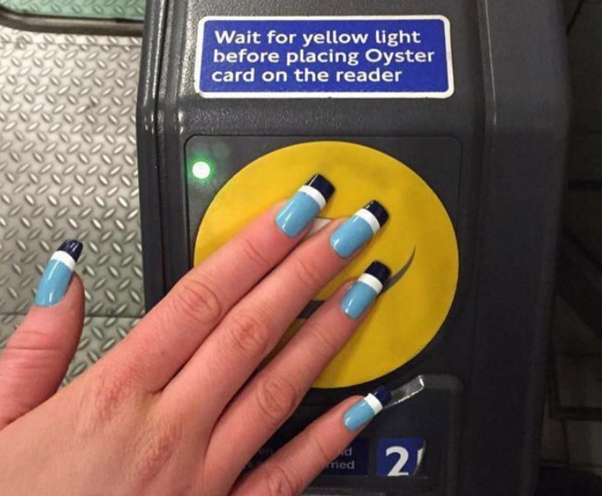 LOVE: A fashion student created acrylic nails with a secret tech ...
