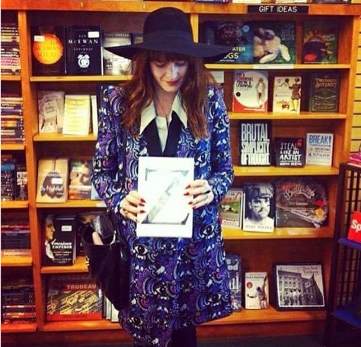 Florence + The Machine's online book club is, like, the best thing ever