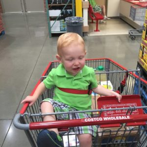 Um… People believe this Costco photo is evidence that time travel exists