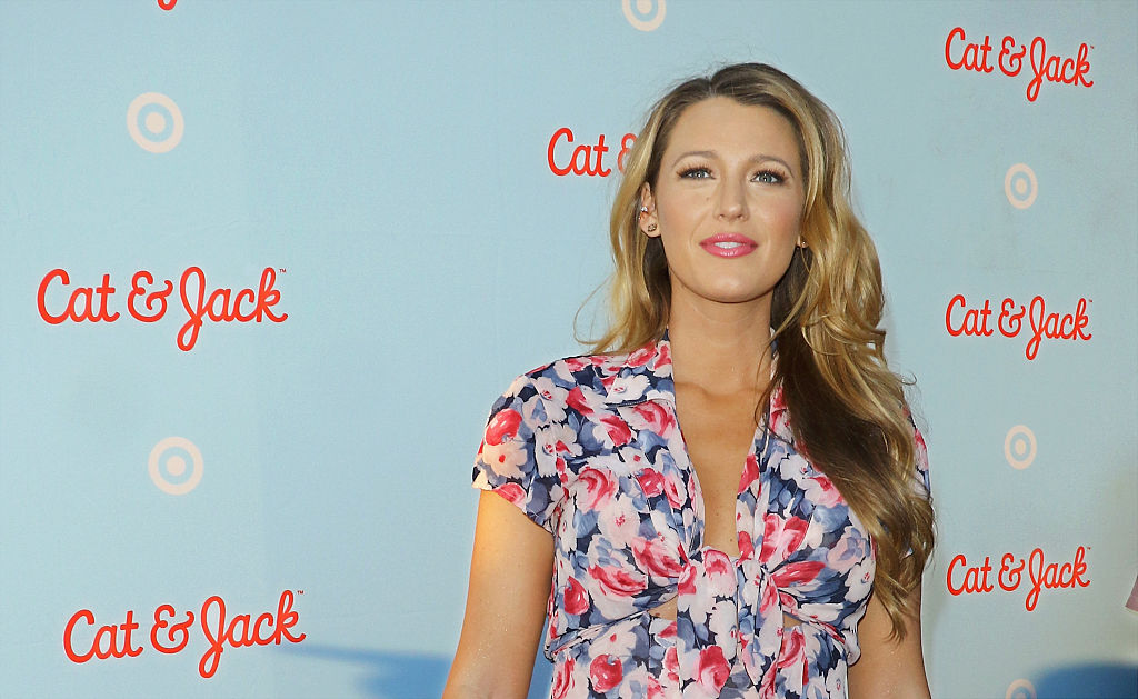 213d628977413 Blake Lively looks *so* glorious in this floral dress and we're ...