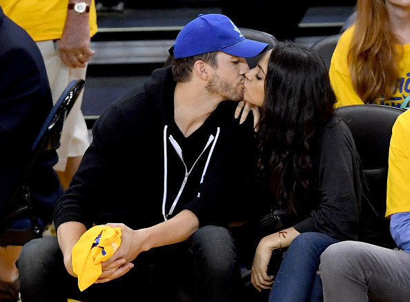 This photo of Mila Kunis & Ashton Kutcher in 1998 is cringe-worthy in the best way