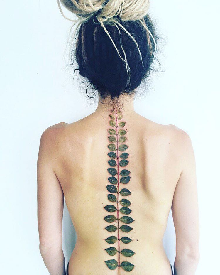 17 Spine Tattoos That Make For Beautiful Backbones Hellogiggles