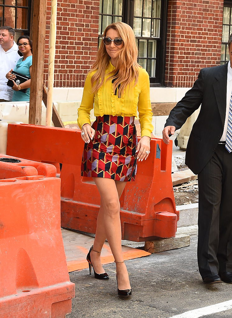 We totally covet Céline Dion's NYC summer outfits