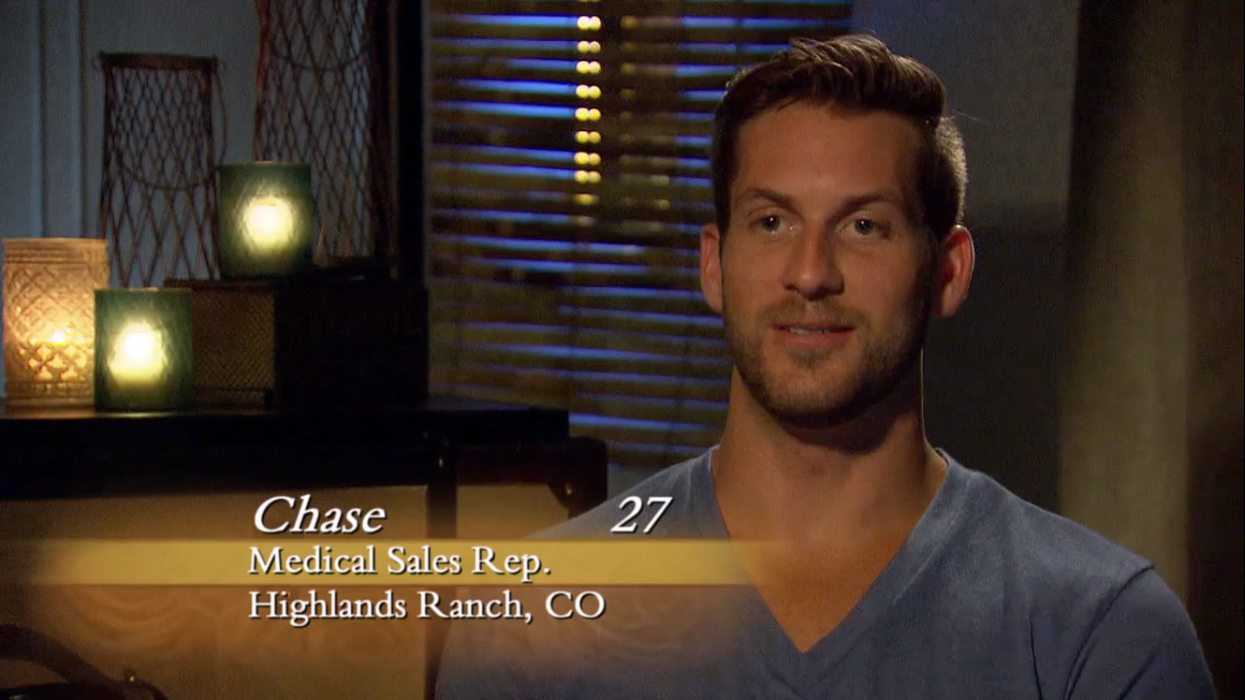 B Chase Title Card