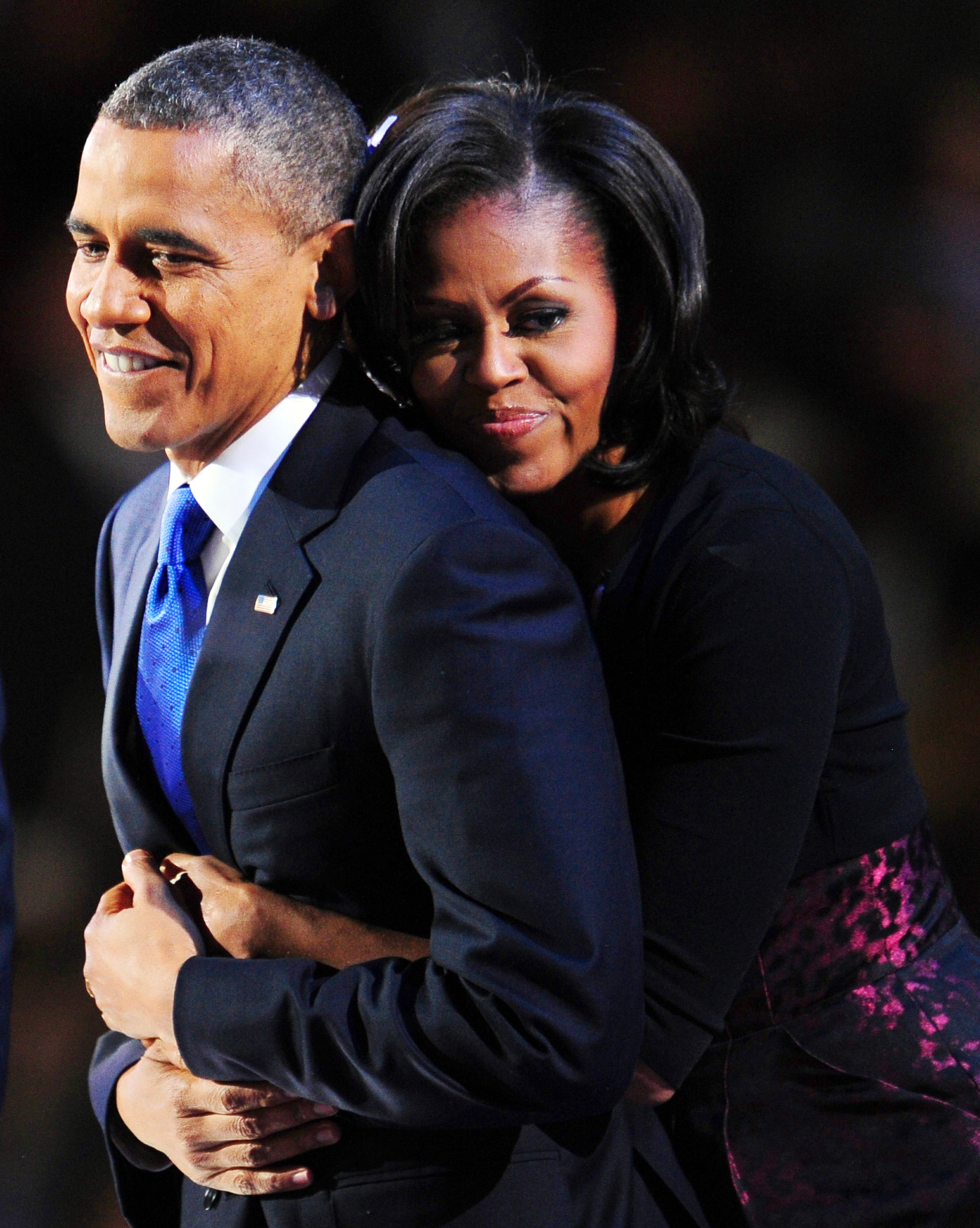 michelle obama�s response to her husband�s epic dnc speech