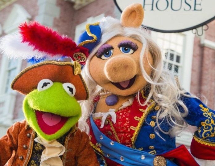 The Muppets are moving into Disney World, and our bags are packed