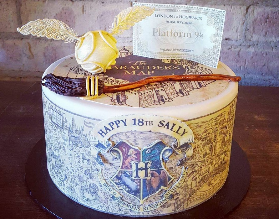 Fine Celebrate Harry Potters Birthday With These Incredible Hp Cakes Personalised Birthday Cards Paralily Jamesorg