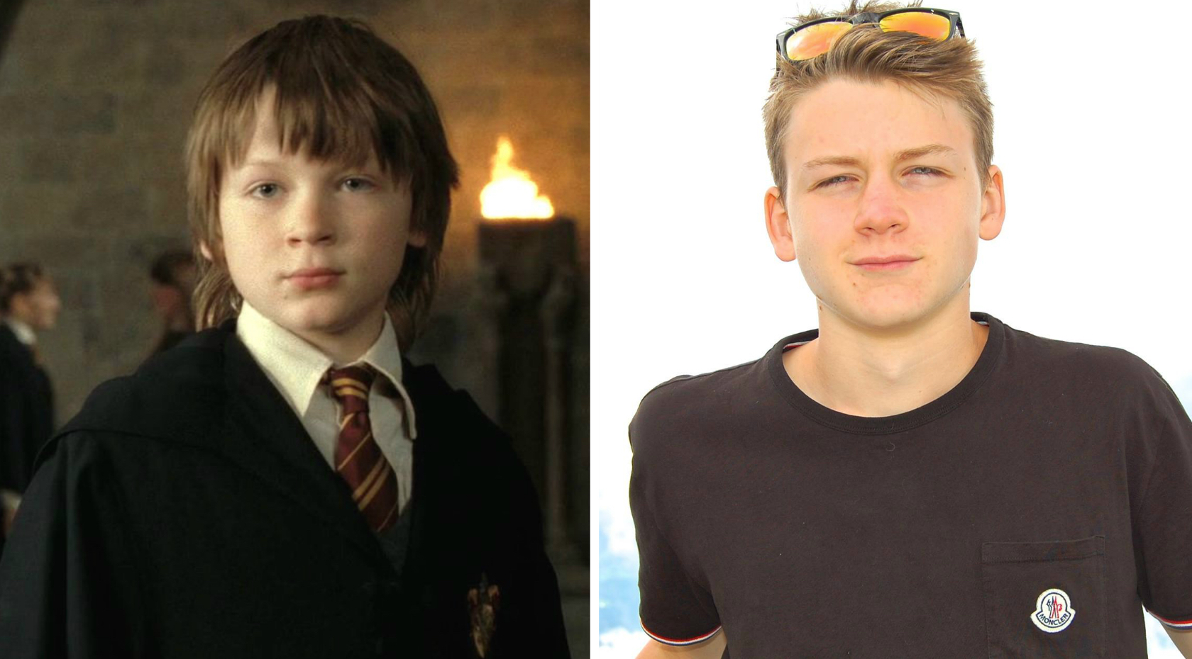 quotHarry Pottersquot young James is now a total teen heartthrobYoung James Potter
