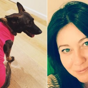 Shannen Doherty is pretty sure her dog knew about her cancer before anyone else did