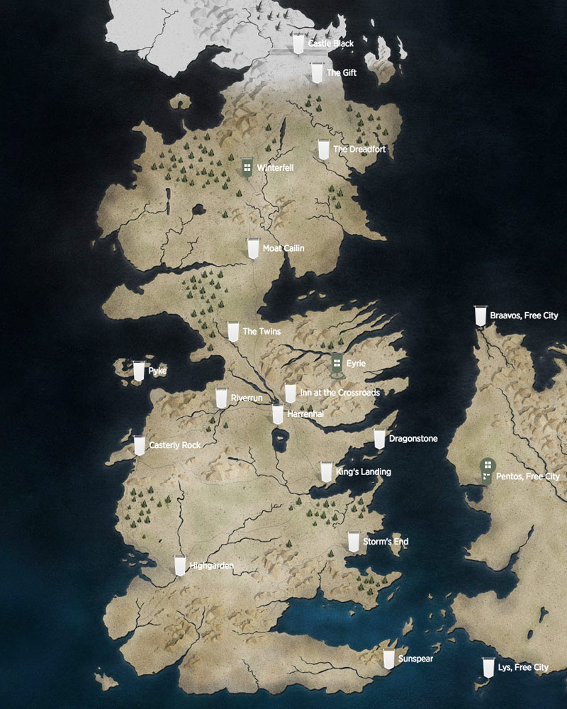 How did we never realize that Westeros is just a map of ...