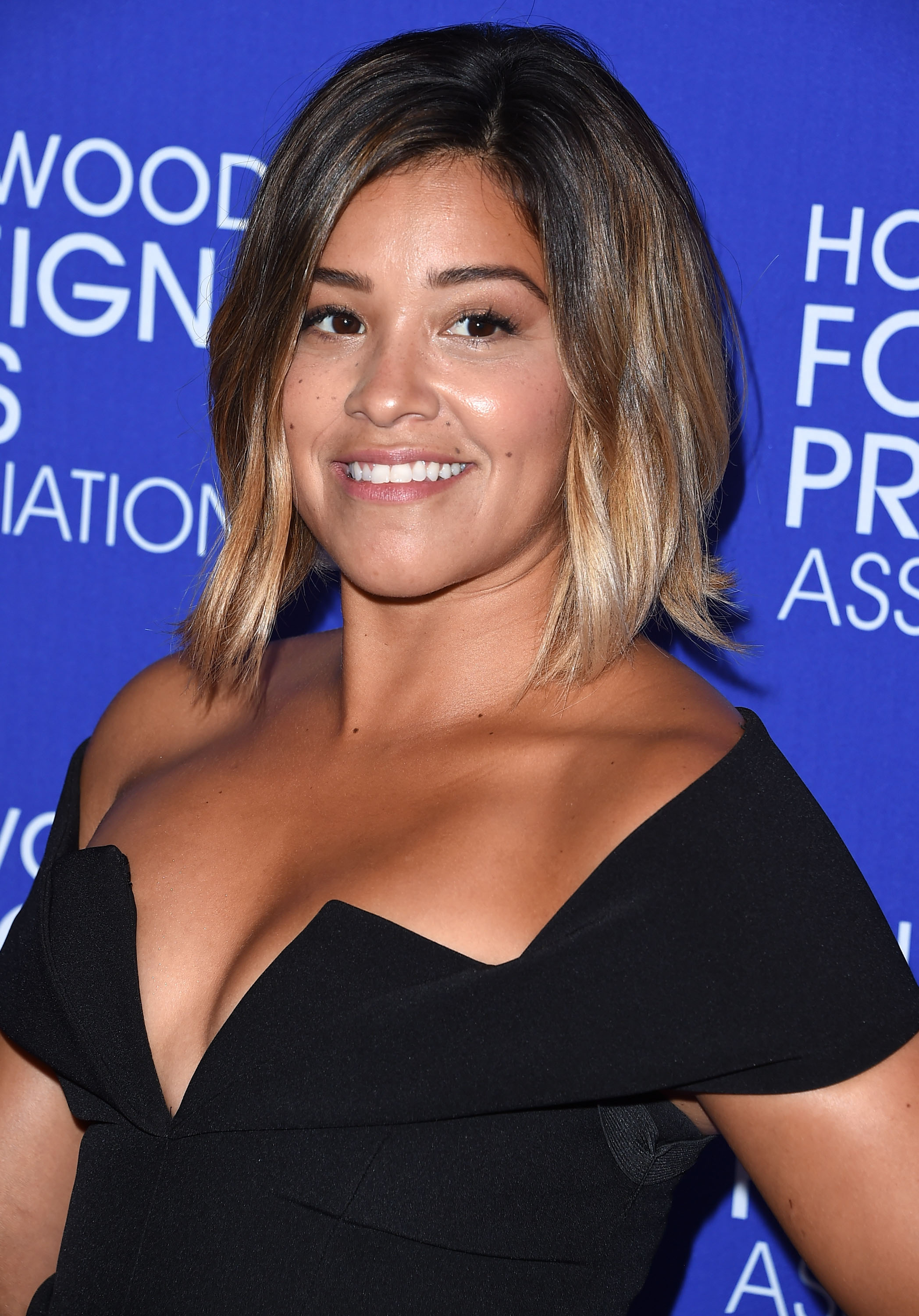 Gina Rodriguez Looks Like A Minimalist Goddess In This