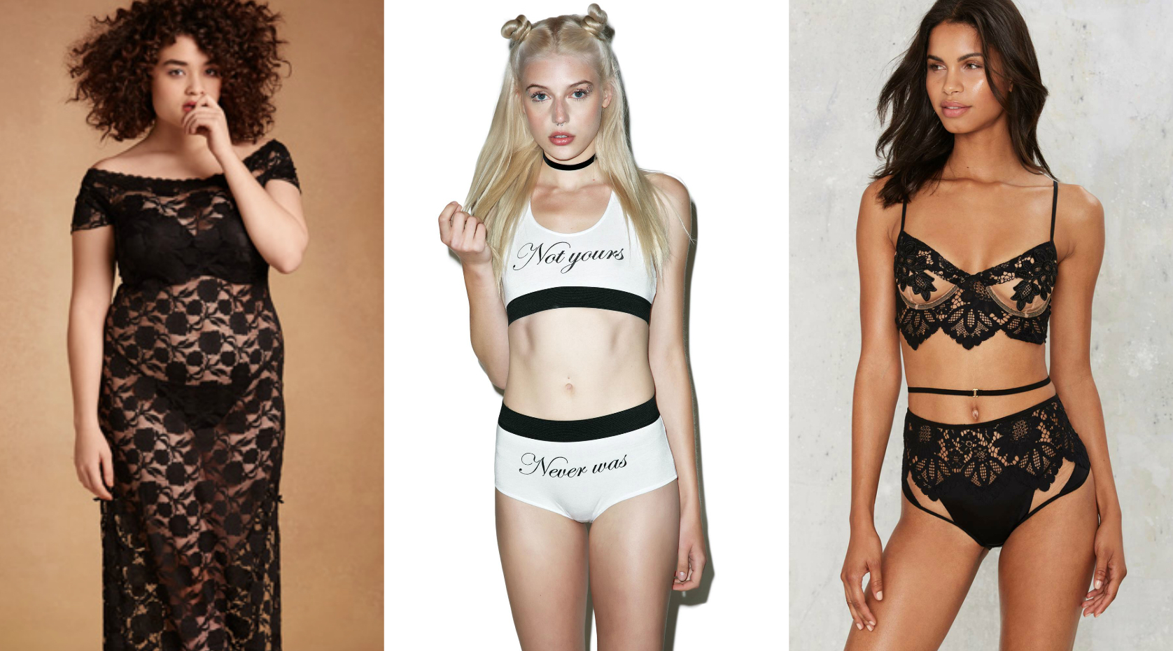 9 pieces of dark lingerie every inner goth girl needs in her life