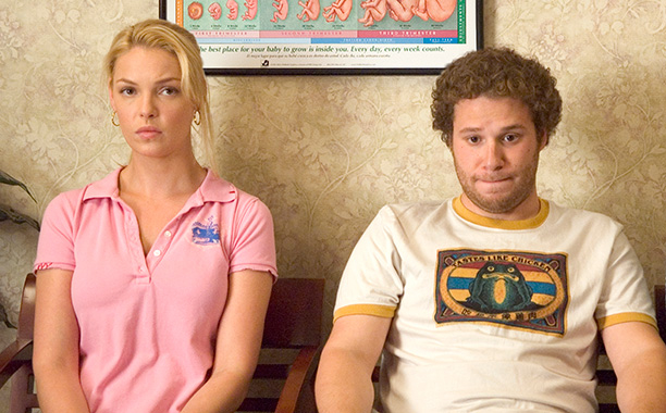 "Seth Rogen was really surprised when Katherine Heigl said ""Knocked Up"" was sexist"
