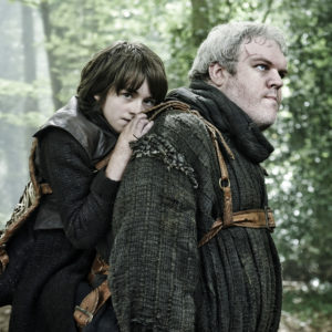 """Isaac Hempstead Wright loves to give Hodor a hug every chance he gets, and our """"Game of Thrones""""-loving hearts hurt"""