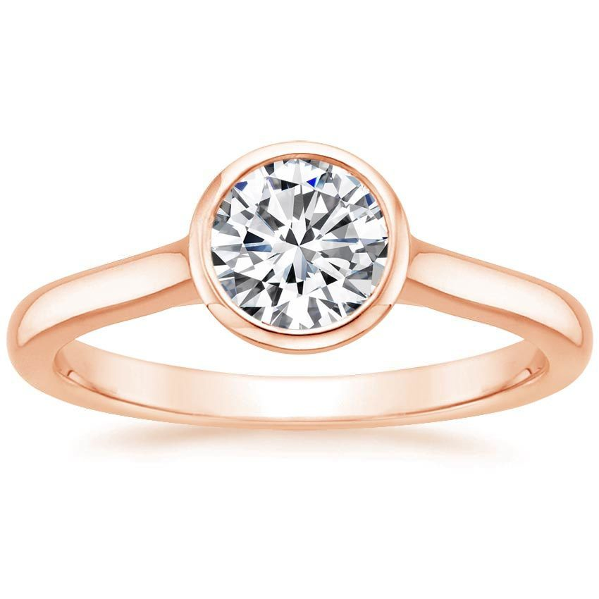 11 Rose Gold Engagement Rings That Shine Bright Like A Diamond