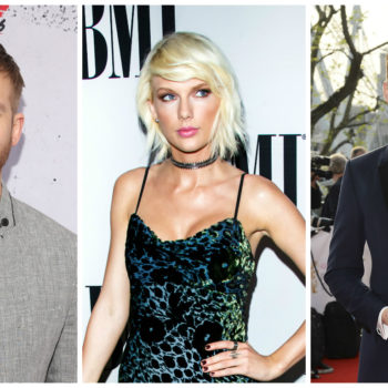 We just noticed something ~interesting~ about Taylor Swift, Tom Hiddleston, and Calvin Harris on Instagram