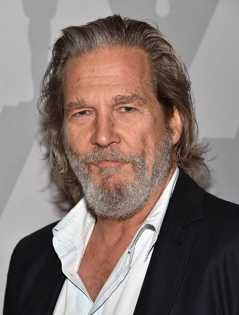 Jeff Bridges shaved hi...