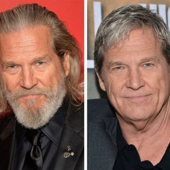 Jeff Bridges shaved his beard for the first time in FOREVER and he's almost unrecognizable