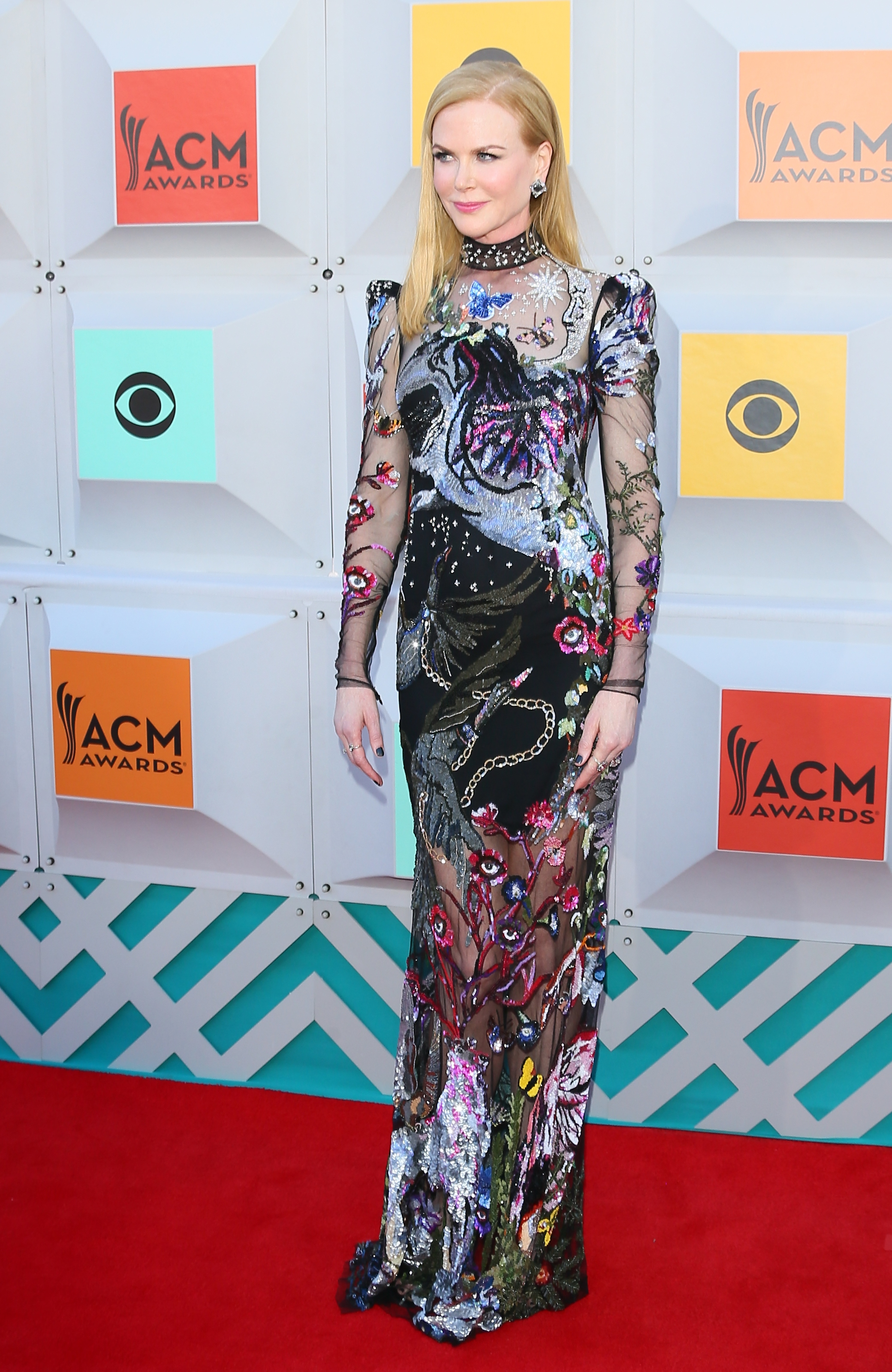 LAS VEGAS, NEVADA - APRIL 03: Nicole Kidman attends the 51st Academy of Country Music Awards at MGM Grand Garden Arena on April 3, 2016 in Las Vegas, Nevada. (Photo by JB Lacroix/WireImage)