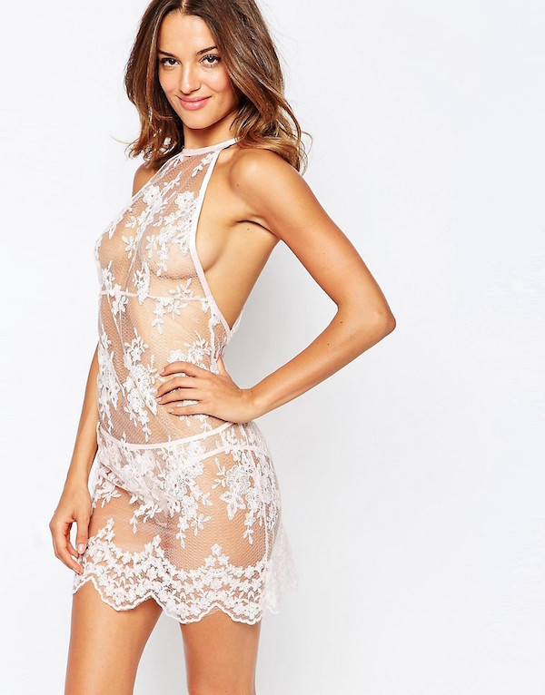 This Victoria S Secret Model S Gorgeous See Through