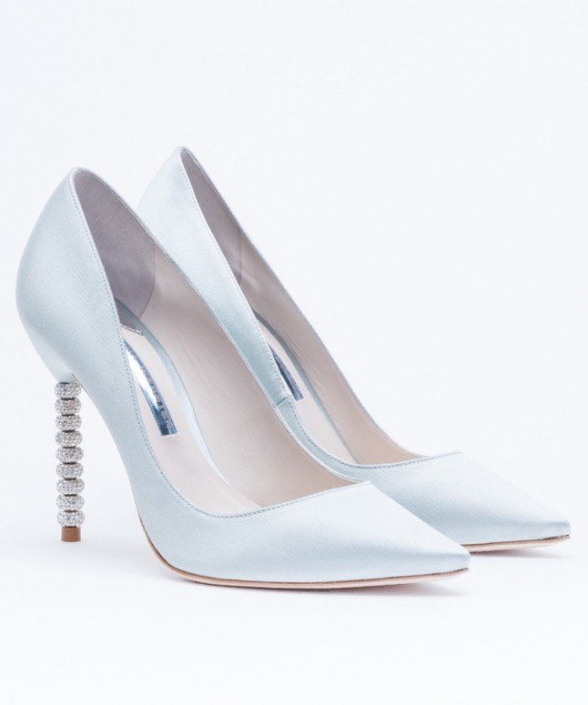 Whoa these are apparently the most popular bridal shoes for Sophia webster wedding shoes