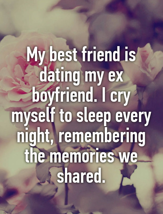 Ex is dating my friend