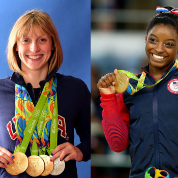"""This cover of """"Sports Illustrated"""" featuring Simone Biles and Katie Ledecky is everything"""