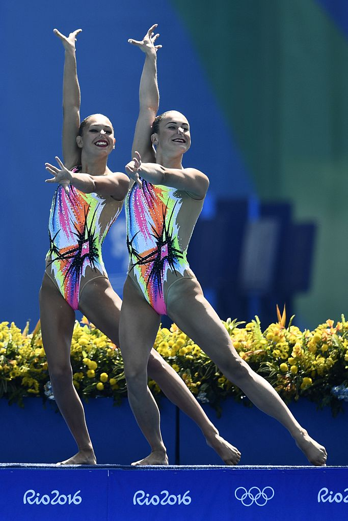 These Synchronized Swimming Suits Will Have You Dancing Under The
