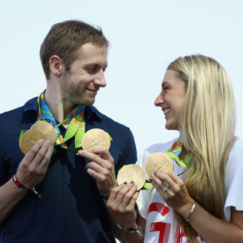 "This is the ""Golden Couple"" at the Olympics everyone is talking about"