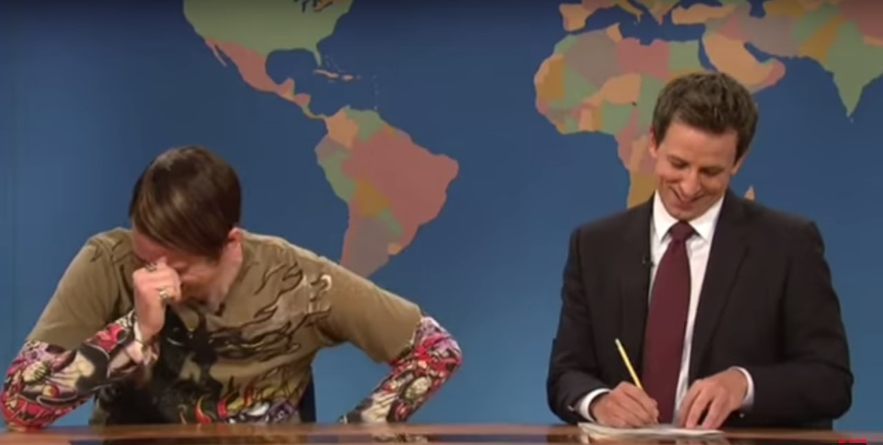 "Someone created a compilation of ""SNL"" actors breaking character and it's amazing as it sounds"