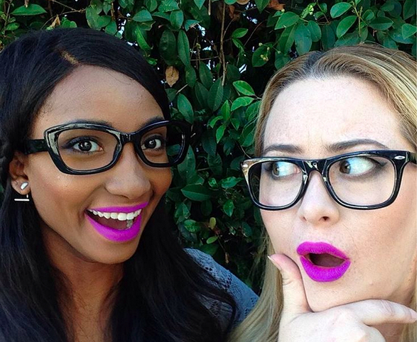 This Insta account shows the same lipstick on different skintones and it's genius