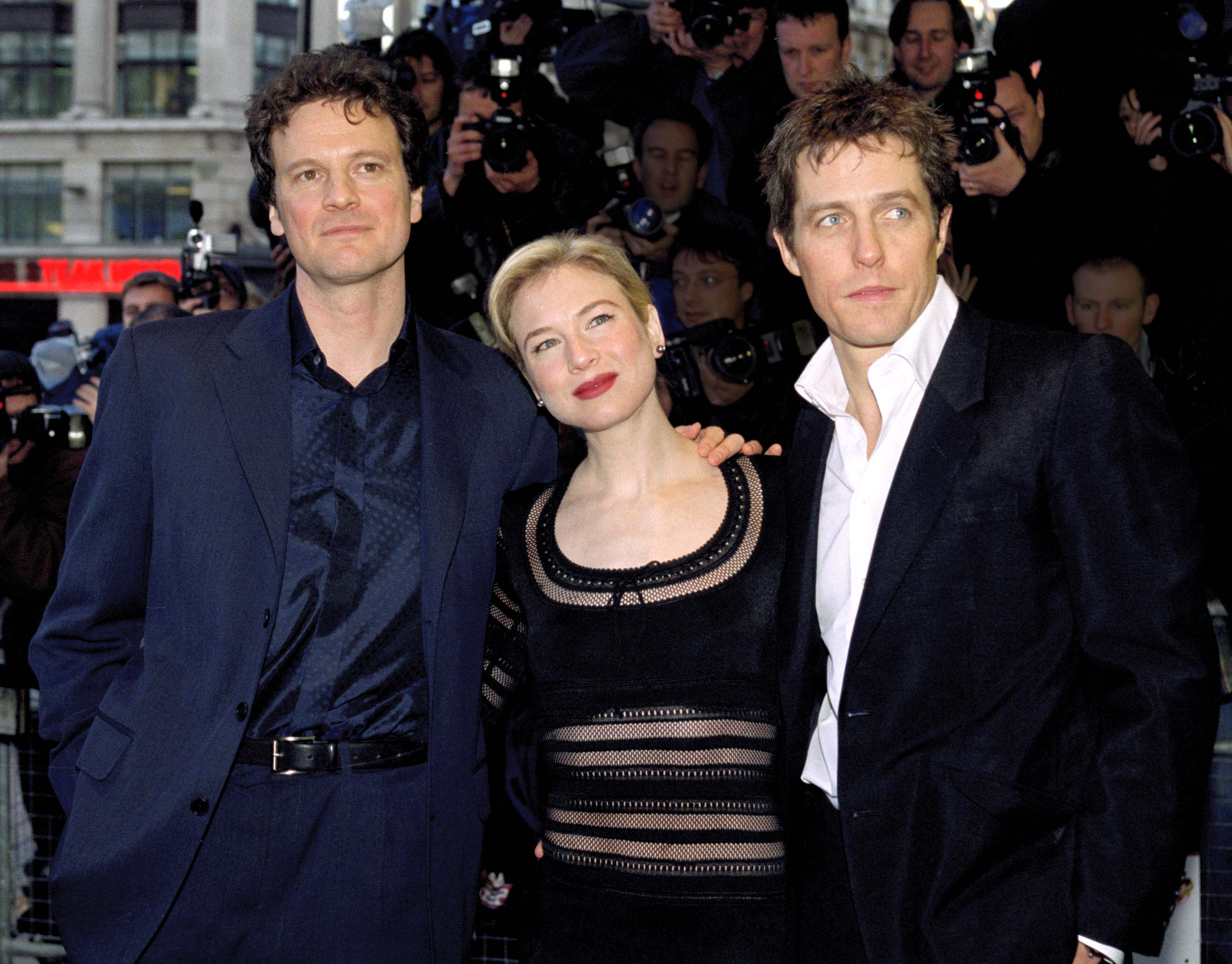 The Bridget Jones Cast At Their First Premiere Event Is About As