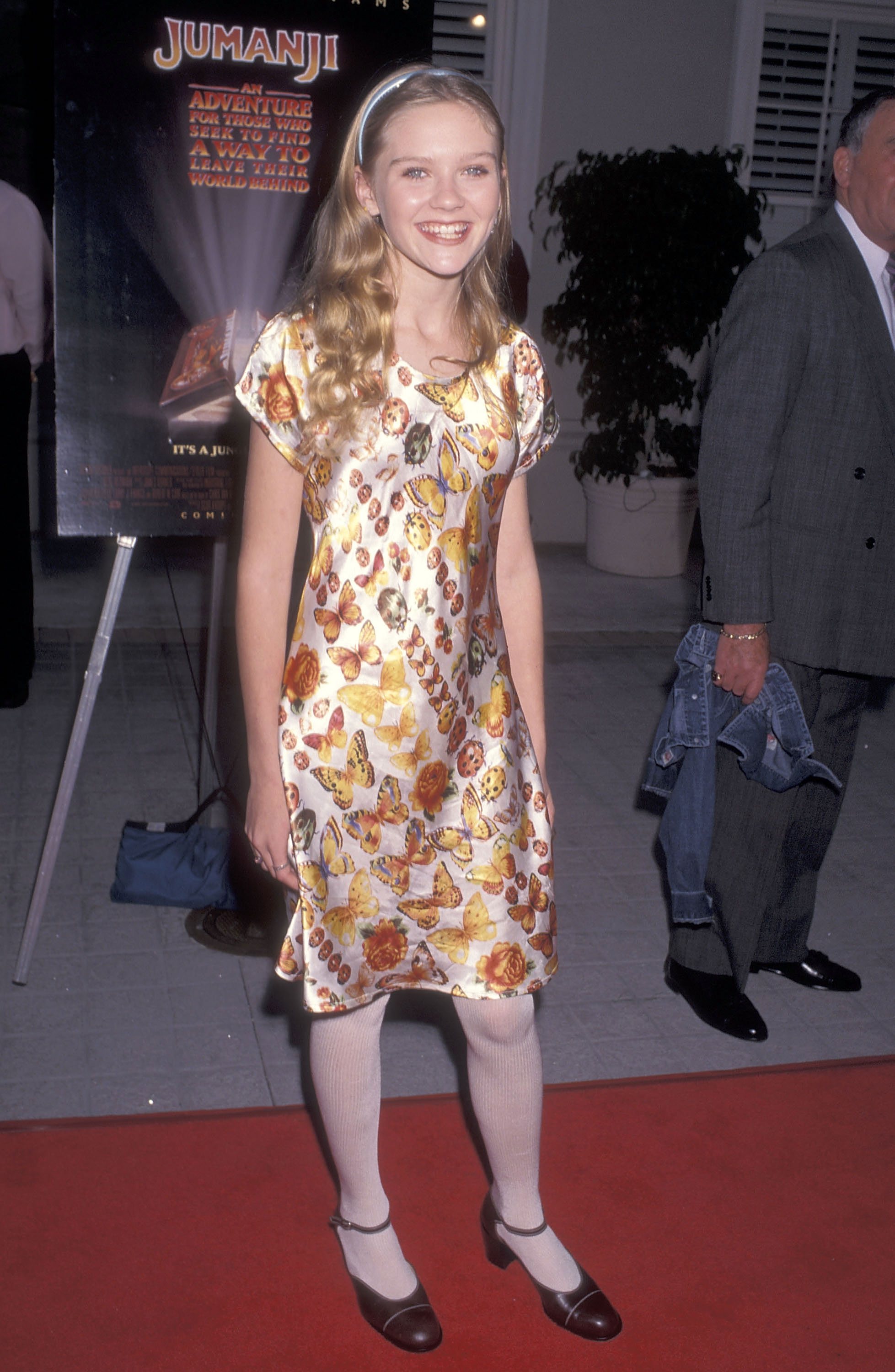 Kirsten Dunst Is A Tiny Beautiful Butterfly At The