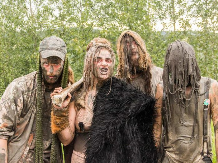 """Shreeka and her """"swamp bottoms"""" left a trail of mud and algae on the ring and in everyone's hearts"""