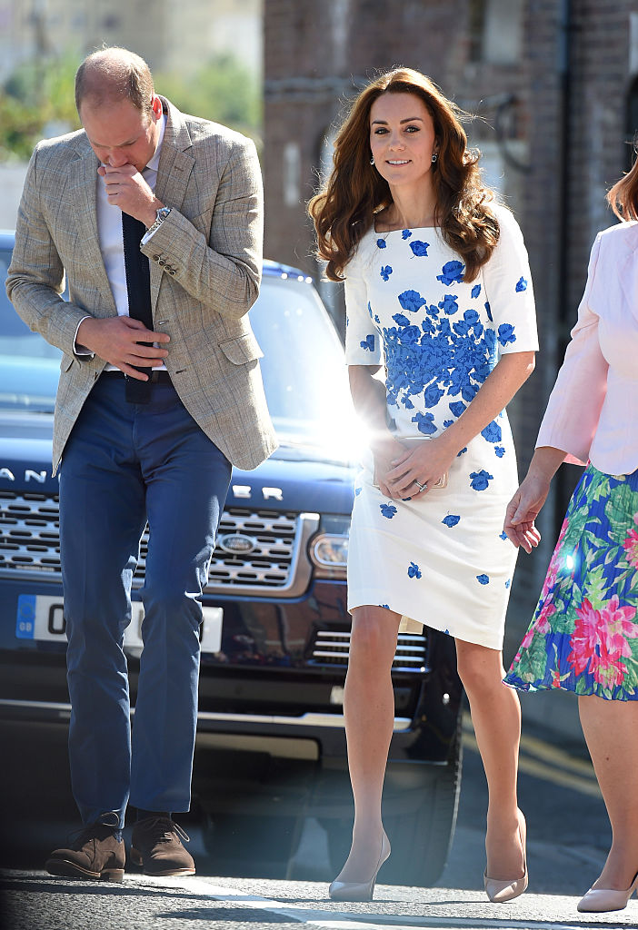 Kate Middleton S Floral Pencil Dress Is Giving Us Summer