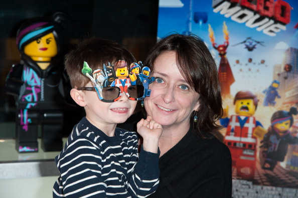 Rachel Dratch and her son, Eli.