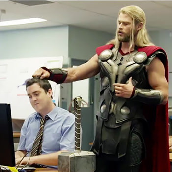 """We have finally learned what Thor was up to during """"Captain America: Civil War"""" and we CANNOT stop laughing"""