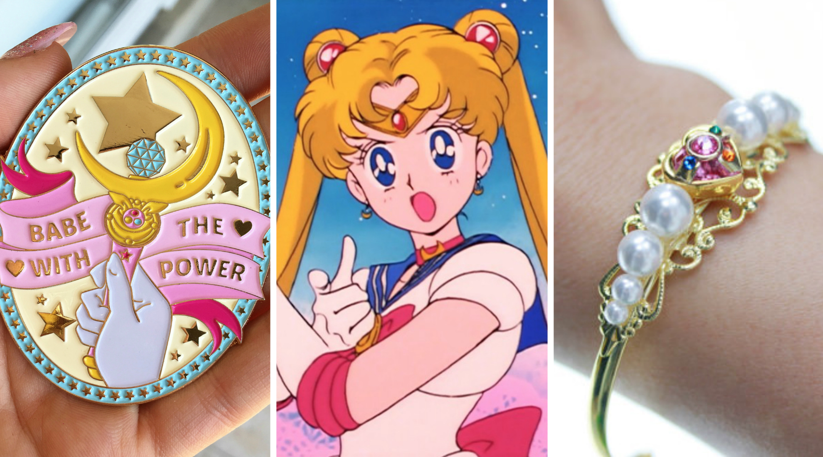 "These pieces of Sailor Moon jewelry have us screaming ""Moon Prism Power!"""
