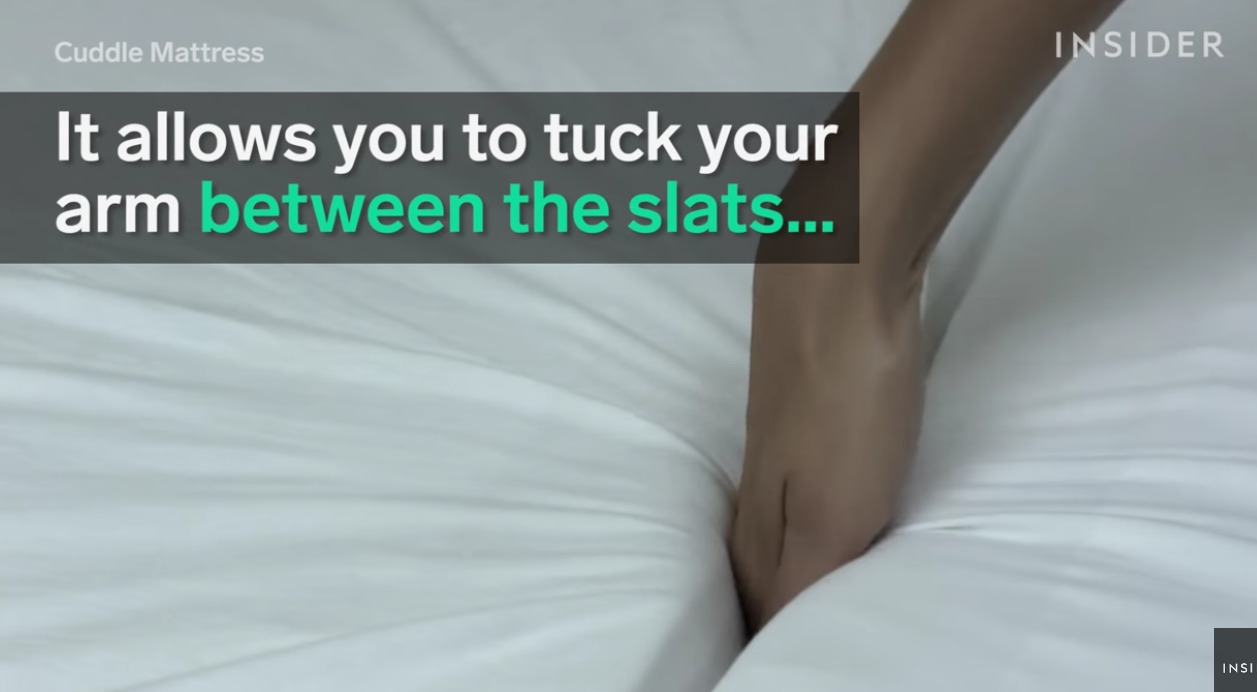 This Mattress Was Created Just So You Could Cuddle