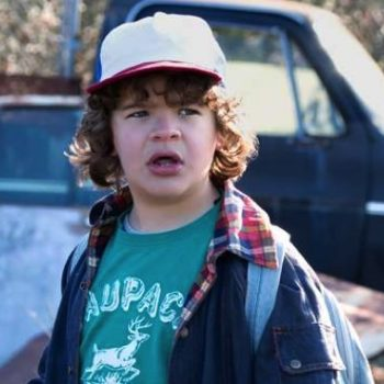 """Gaten Matarazzo (Dustin) celebrated the renewal of """"Stranger Things"""" Season 2 in the most chill way possible"""
