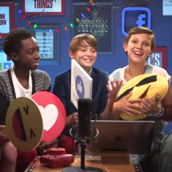 """The """"Stranger Things"""" kids answered fan questions and it was adorably awesome"""